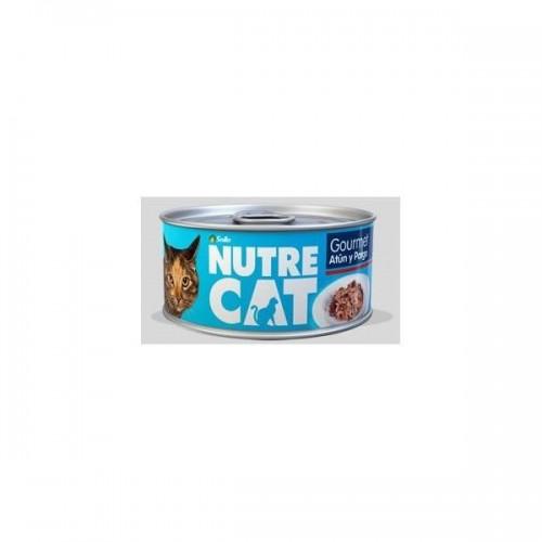 NUTRECAT GOURMET ATUN PARGO HUM 85 GR