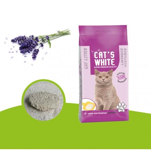 CAT`S WHITE COMPACT LAVANDA
