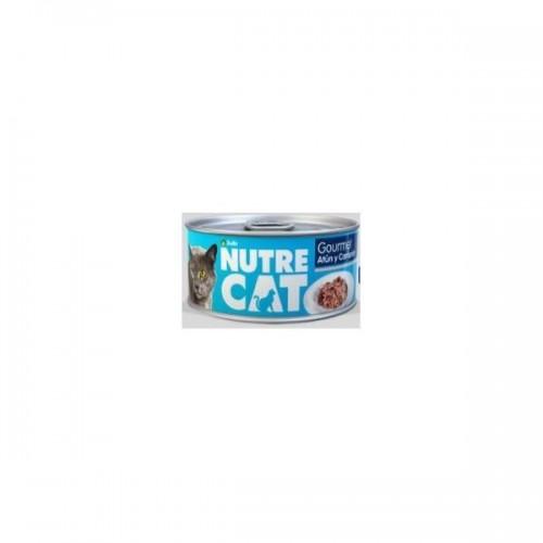 NUTRECAT GOURMET ATUN CAMARON HUM 85 GR