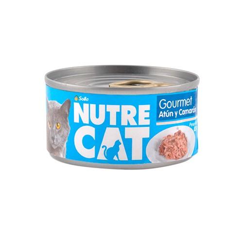 Nutre Cat - Lata: Gourmet Atún y Camarón