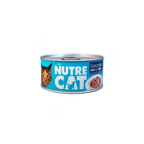 Nutre Cat - Lata: Gourmet Atún y Pargo
