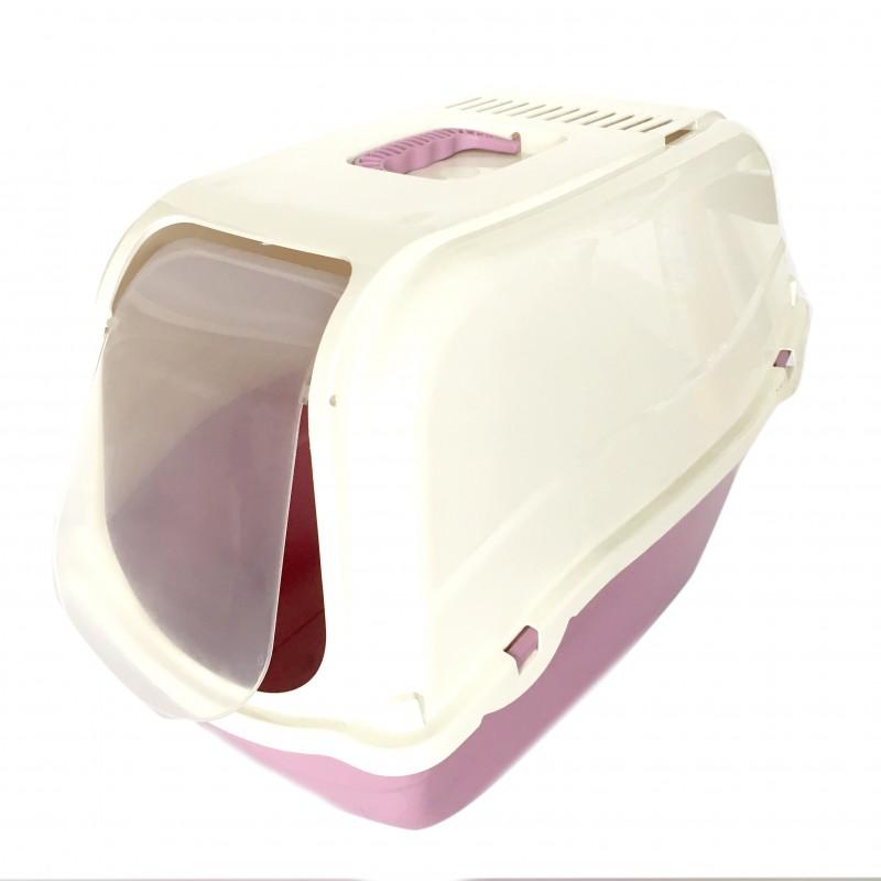Arenera IGLU Con Pala WC Cat Rosado