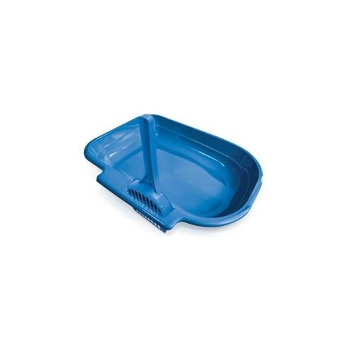 Arenera Pequena Azul 40x29.5x7 cm sin pala sin tapa