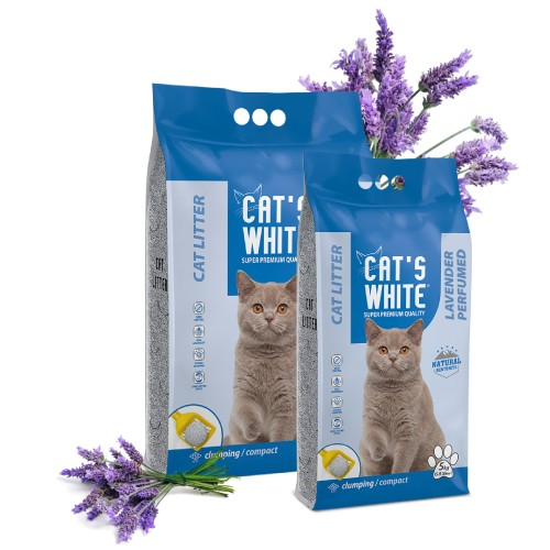 Arena Cat's White - Lavanda